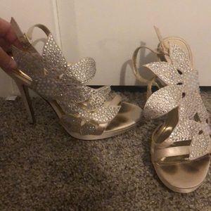 Flower heels